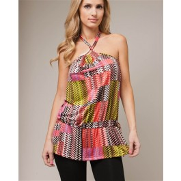 Devsters Jazz Colored Halter Tie Top