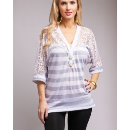 Devsters Special Laced Plus Sized Top