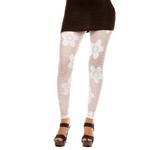 Devsters Trendy White Leggings