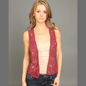Fashion Chic Laced vest