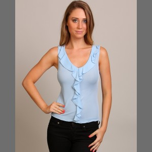Devsters Figure Flattering Ruffle Top