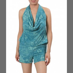 Devsters Pretty Plus Romper - Summer Romance