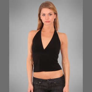 Devsters Diva Black Halter Top