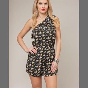 Devsters Style Floral Romper