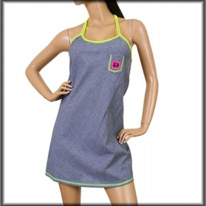 Devsters Trendster 'D' Dress (Gray Yellow)
