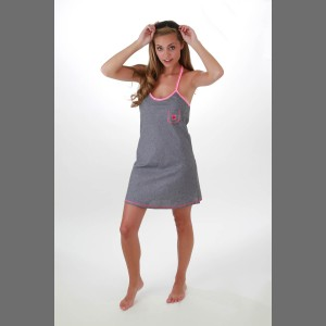 Devsters Trendster D Dress (Gray Pink)
