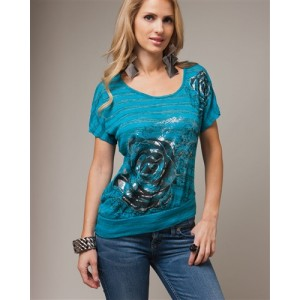 Devsters Rose Blue Top