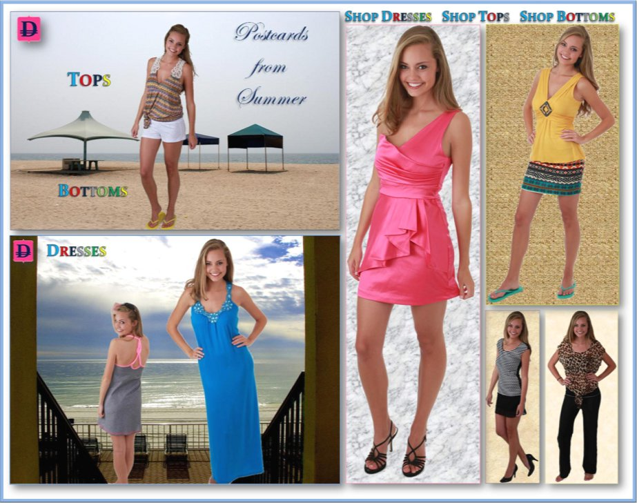 Teen Girls Designer Clothing Apparel Main jpg